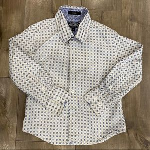 Fitted button down size 4